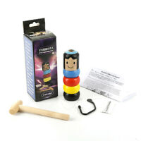 Der unsterbliche Daruma Magic Stubborn Wood Man Funny Wooden Magic Toy Unbreakab