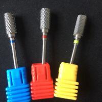 Nail Salon Rotary Tools Manicure Carbide Drill Bit NEW Nail Gel Removal  Burr