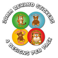144 x Bravery, Childrens Reward Stickers - schools, nursery, doctors, nurses