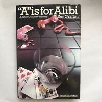 A is for Alibi, Sue Grafton, 1st Edition / 1st Printing Not Price Clipped