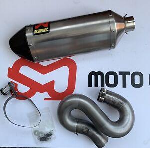 HONDA CBR 1000RR FIREBLADE 2008-2013 AKRAPOVIC Titanium Slip-on Exhaust Silencer