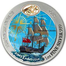 2018 Rwanda Nautical Endeavour - 1 Ounce Silver Colorized Series!!