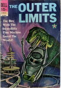 THE OUTER LIMITS #18 DELL COMICS OCTOBER 1969