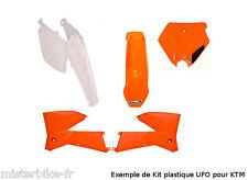 KIT PLASTIQUES UFO KTM SX85 11-12 SX 85 2011-2012 Couleur Origine