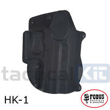 New Fobus H&K USP Compact Rotating Paddle Holster UK Seller HK-1 RT Polymer