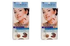 (Lot of 2) Wonder Brush-ers Make-up Applicators - 10 Medium Tip ea Total 20 TIPS