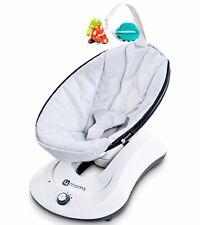 4Moms Rockaroo Baby Bouncer Carrier Infant Swing Classic Grey Nursery Cradle