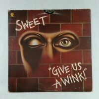 SWEET Give Us A Wink ST511496 MbC LP Vinyl VG+ Cover VG+ Die Cut Sleeve