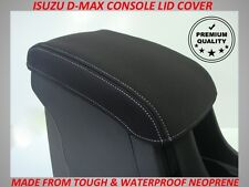 ISUZU D-MAX NEOPRENE  CONSOLE LID COVER (WETSUIT MATERIAL) MAY 2012 - CURRENT