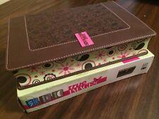 NIV True Images Teen Study Bible - $49.99 Retail - Chocolate Italian Duo Tone