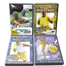 4 DVD Billy's Bootcamp Tae Bo II Workout DVD Lot Billy Blank Ab Elite Training