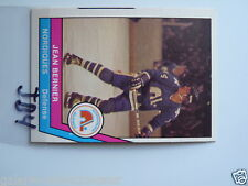 HOCKEY CARD O PEE CHEE 1977-78 WHA JEAN BERNIER QUEBEC  NORDIQUES NM TO MINT JB4