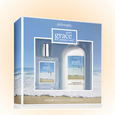 Philosophy Pure Grace Summer Surf Gift Set 2 Pc. EDT 2OZ+Lotion 8OZ New Gift Box