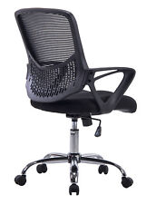 Mesh Mid Back Desk Chair Task Chair Computer Office Swivel Wheel Seat Furniture