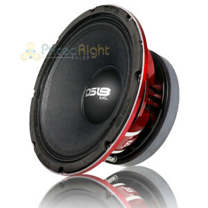 "DS18 10"" Midrange Speaker 1000 Watts Max 8 Ohm Car Audio Loudspeaker PRO-EXL108"