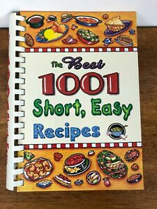 The Best 1001 Short, Easy Recipes: That Everyone Should Have by Cookbook Resourc