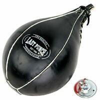 BOXING SPEEDBALL MMA PUNCHING BAG w/ SWIVEL Speed Ball Training Dodge Workout