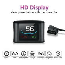Car HUD Head Up Display OBD Scanner OBD2 Digital Speedometer Over Speed Alarm
