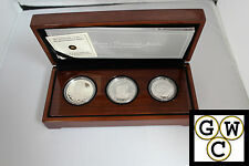 2012 Queen's Diamond Jubilee 3 Coin Silver Set. (OOAK)