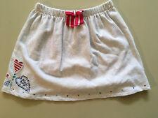 Girls Designer Skirt DP...am France Size 10 Light Coloured Short Elastic Waist