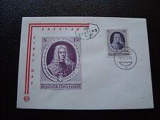 AUTRICHE - enveloppe 1er jour 18/10/1963 (B7) austria (Z)