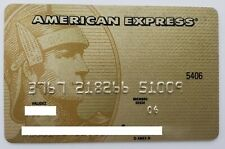 MEXICO - AMERICAN EXPRESS - EXPIRED CREDIT CARD - GOLD