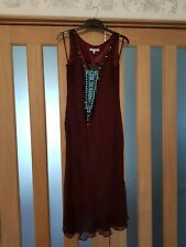 Laura Ashley dress size Uk 8 BNWT embellished
