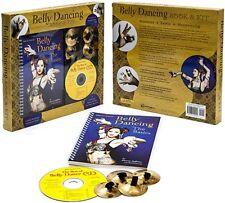 NEFERTITI BELLY DANCING BOOK & KIT (Book, CD, 2 sets Brass Zills)