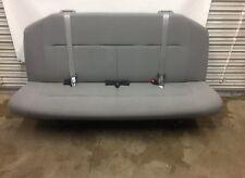 2008-2014 08-14 Ford Econoline Van Bench Seat - 4 Person, Gray Cloth