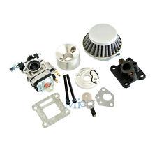 Racing Carburetor Air Filter Stack Intake Kit 47/49 cc Mini ATV Dirt Pocket Bike