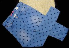 Jean slim bleu Clair bleashed motifs étoiles ZARA taille 9 10 ANS