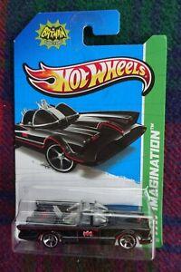 "2013 HOT WHEELS ""Imagination"" Classic TV series Batmobile (Batman) black"