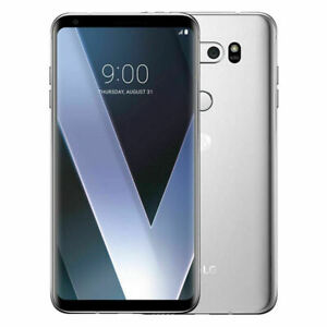 New LG V30 H932 T-Mobile Android 7 64GB 3G 4G LTE 16MP Smartphone Black/Silver