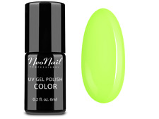 NeoNail Neon uv Nagellack 6ml - Juicy Lime Neon Gel Polish Nagelgel gut deckend