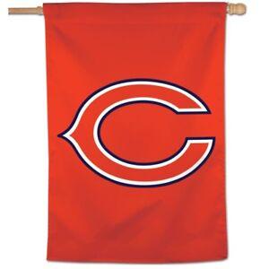 "CHICAGO BEARS ""C"" 28""X40"" BANNER FLAG BRAND NEW WINCRAFT"