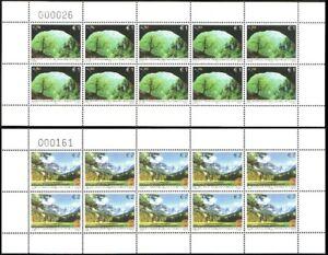1100 - Kosovo - 2011 - Europa - Forests - 2 sheetlets of 10v - MNH - Lemberg-Zp