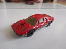 Matchbox Ferrari 308 GTB in Red/Grey