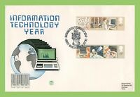 G.B. 1982 Information Technology on Stuart First Day Cover, Manchester