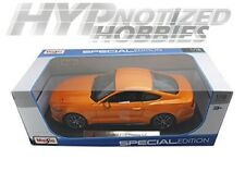 MAISTO 1:18 SPECIAL EDITION 2015 FORD MUSTANG DIE-CAST ORANGE 31197