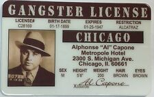 Al Capone - Gangster License - Chicago, IL - Novelty