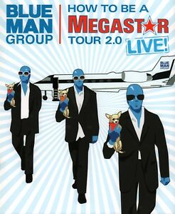 THE BLUE MAN GROUP 2006 HOW TO BE A MEGASTAR 2.0 LIVE TOUR BOOK / NMT 2 MINT
