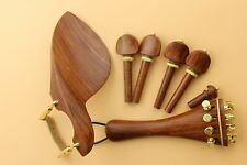 1 set high quality rosewood Violin parts 4/4 size, violin accessories