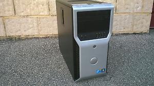 Dell Precision WorkStation T1600 Xeon E31245 @ 3.30GHZ 16GB Ram 256GB SSD DVDRW