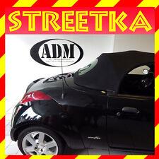 Ford StreetKa Cabrio Roadster Heckscheibe PVC mit Reißverschluss+Einbaumaterial