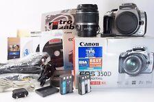 Kit Canon EOS 350D / Digital Rebel XT DSLR Lens 18-55 mm