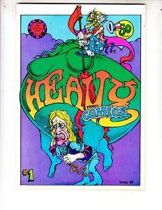 Heavy Tragicomix #1 1969 Print Mint 1st Print Greg Irons!