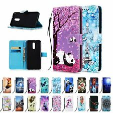 For LG Stylo 5/Stylo 4 Case Cover Patterned Leather Strap Card Slot Flip Wallet
