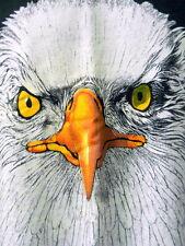 I AM Smiling! Black Tee Shirt 2XL US Bald Eagle Sitka Alaska Raptor Center Beefy