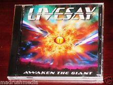 Livesay: Awaken The Giant CD 2010 BMI Music Heavy Metal Original NEW