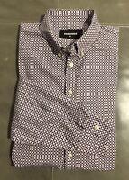 DSquared2 Italy Mens 100% Cotton Button-down Dress Shirt Slim 40 15.75 35 $275